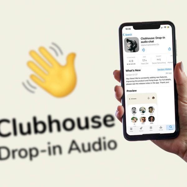 Clubhouse réseau social corporate StoriesOut